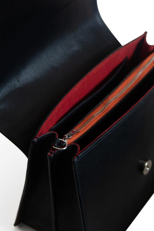 detail sac mag noir