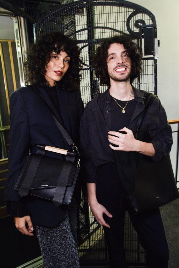 duo sac mag noir