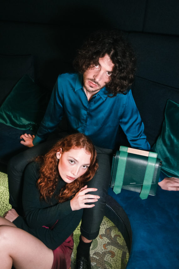 couple sac vert