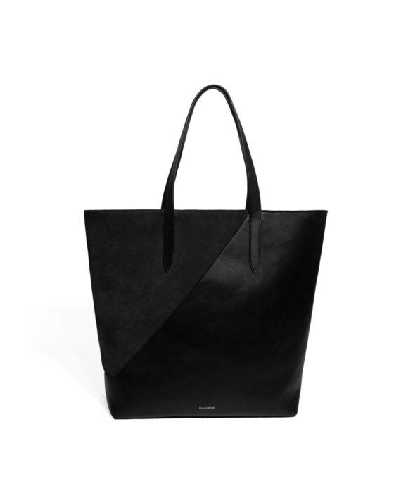 sac cuir noir Oli