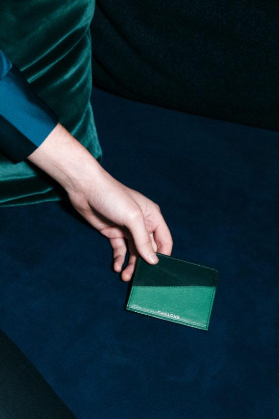 porte-cartes joa vert