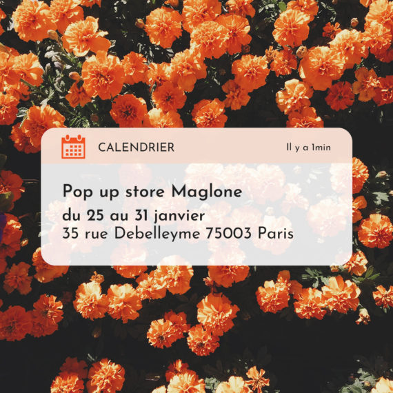 pop up store maglone