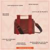 sac cuir luxe maglone