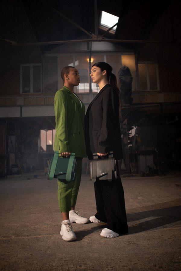 Duo mag vert noir
